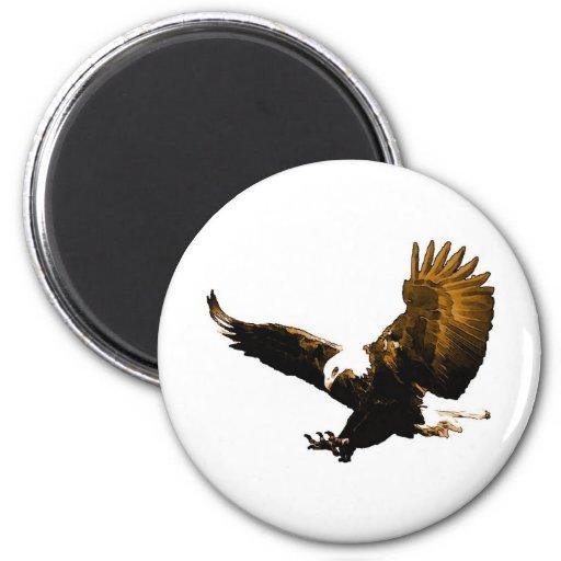 Eagle Landing Fridge Magnets