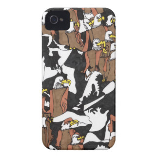 Eagle landing iPhone 4 cover