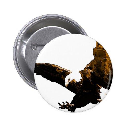 Eagle Landing Pin