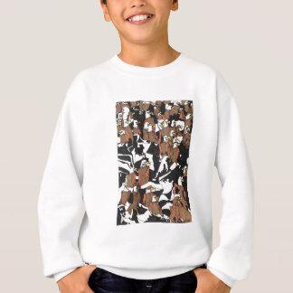 Eagle landing sweatshirt