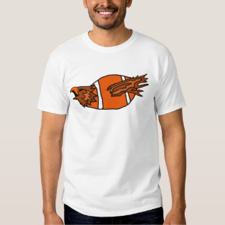 Eagle Leaping from Football Shirt