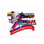 Eagle Liberal Post Card