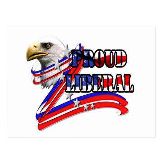 Eagle Liberal Postcard