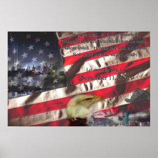 Eagle lloró poster
