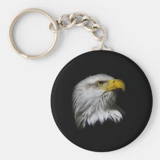 eagle looking up-3.jpg keychain