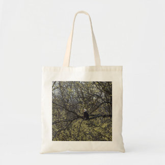 Eagle Lookout Painterly Tote Bag
