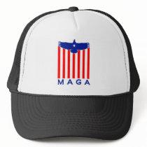 EAGLE MAGA TRUCKER HAT