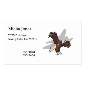 Eagle majestuoso tarjetas de visita
