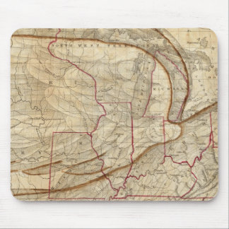 Eagle Map of the United States Mouse Pad