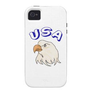 EAGLE MASCOT Case-Mate iPhone 4 CASES