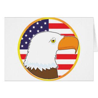 Eagle Medallion Card