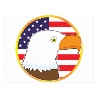 Eagle Medallion Postcard