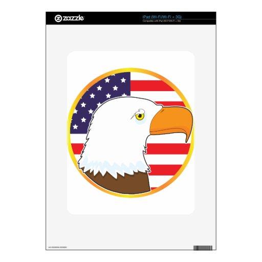 Eagle Medallion Skin For The iPad