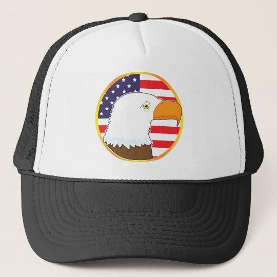 Eagle Medallion Trucker Hat
