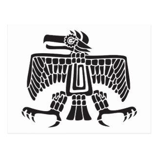Eagle, Mexican hieroglyph(Maya) Postcard