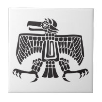 Eagle, Mexican hieroglyph(Maya) Tile