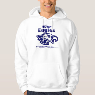 Eagle, Midway, Eagles, FootBall Hoodie