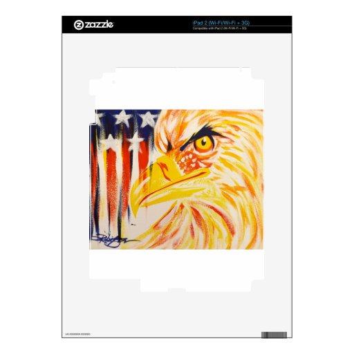 Eagle moderno calcomanía para el iPad 2