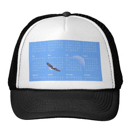 Eagle Moon Sky Trucker Hat