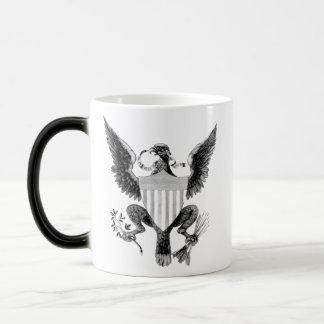 Eagle Morphing Mug