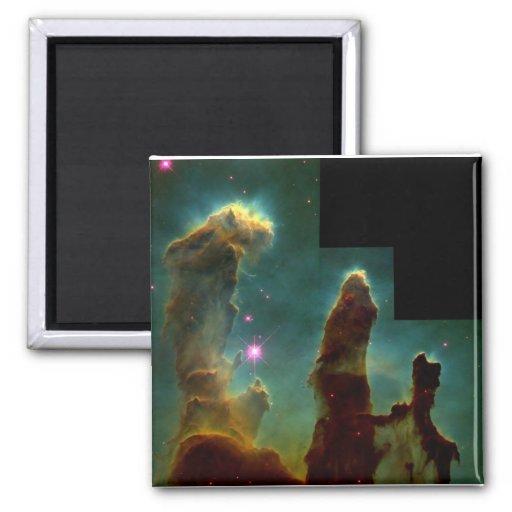 eagle nebula 2 inch square magnet