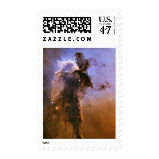 Eagle Nebula by Hubble Space Telescope Postage