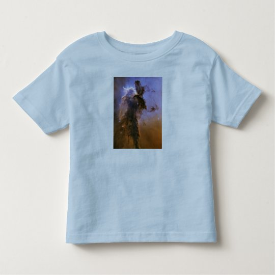 Eagle Nebula by Hubble Space Telescope Toddler T-shirt