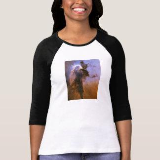 Eagle Nebula by Hubble Space Telescope T-shirts
