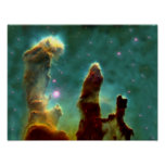 Eagle Nebula in space Poster