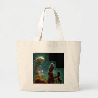 eagle nebula large tote bag
