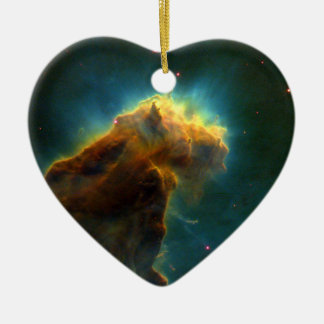 Eagle Nebula M16 Hubble Ceramic Ornament