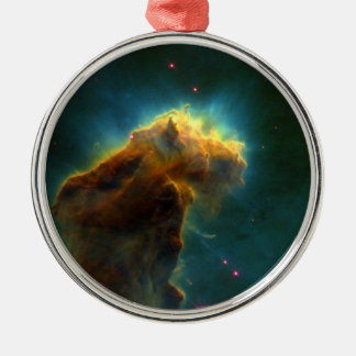 Eagle Nebula M16 Hubble Metal Ornament