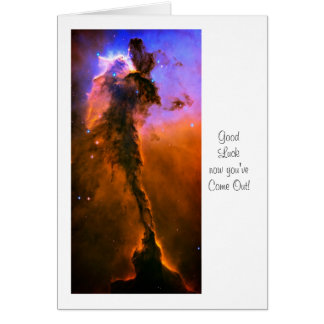 Eagle Nebula, M16 - Luck with Coming Out Card