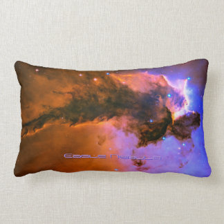 Eagle Nebula, M16 - outer space image Lumbar Pillow