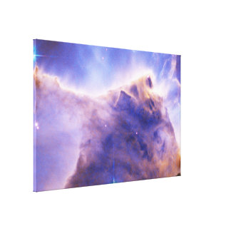 Eagle Nebula (M16) Pillar Detail- Portion of Top Canvas Print