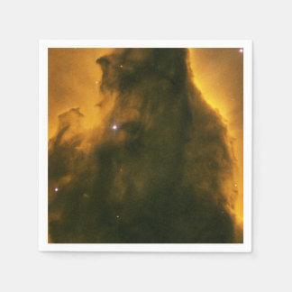 Eagle Nebula (M16) Pillar Standard Cocktail Napkin
