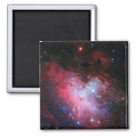 Eagle Nebula, Messier 16 - Pillars of Creation 2 Inch Square Magnet
