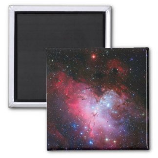 Eagle Nebula, Messier 16 - Pillars of Creation 2 Inch Square Magnet