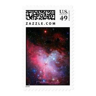 Eagle Nebula, Messier 16 - Pillars of Creation Stamp