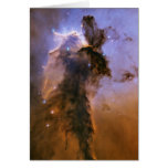 Eagle Nebula Note Card by Hubble Space Telescope