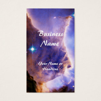 Eagle Nebula Pillar Detail Space Business Card