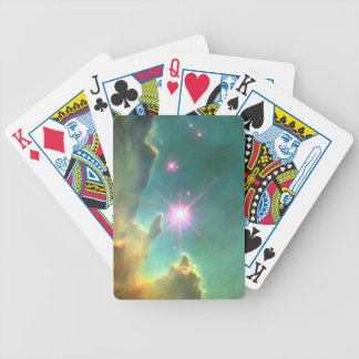 Eagle Nebula Pillars in Beautiful Outerspace Bicycle Card Decks