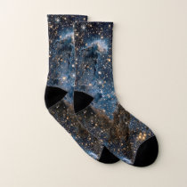 Eagle Nebula's Pillars of Creation Socks