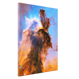 Eagle Nebula Stellar Spire NASA Hubble Space Photo Canvas Print
