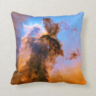 Eagle Nebula Stellar Spire NASA Hubble Space Photo Throw Pillow