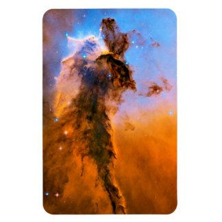 Eagle Nebula Stellar Spire Rectangular Photo Magnet