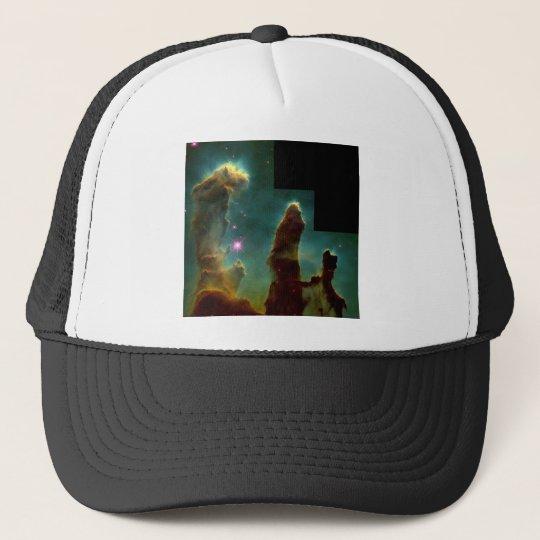 eagle nebula trucker hat