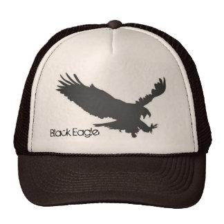 Eagle negro gorros bordados