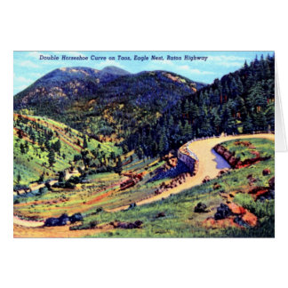 Eagle Nest New Mexico on the Raton Highway Card