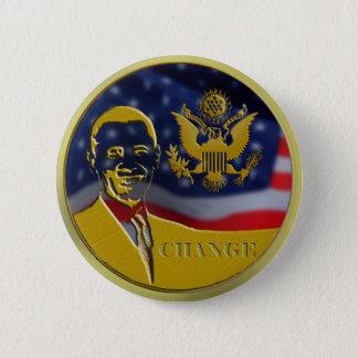 Eagle, Obama, Change - Customized Button